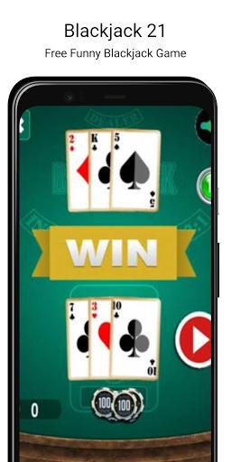 BlackJack 21 - Free Casino Card Game 1.4 screenshots 1