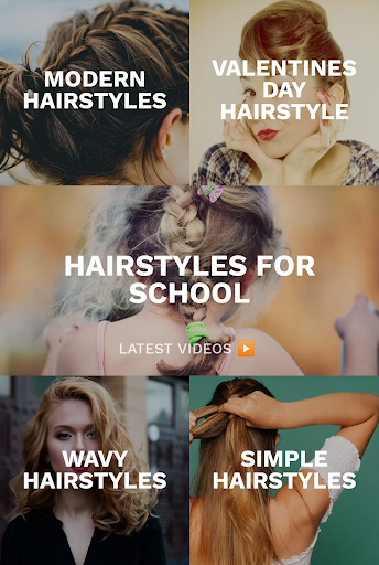 Hairstyles for your face : Free Hair salon 3.0.153 Screenshots 4