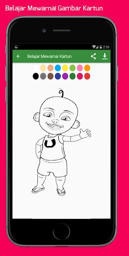 Belajar Mewarnai Gambar Kartun Untuk Anaku2013Infokuu  Screenshots 4