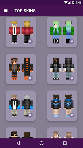 PvP Skins for Minecraft PE android2mod screenshots 8