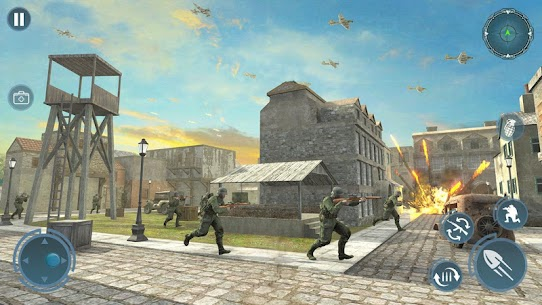 Call of Sniper World War: Special Forces WW2 Mod Apk (God Mode) 2