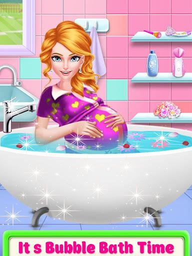 Mommy pregnant & newborn babysitter daycare game screenshot 10