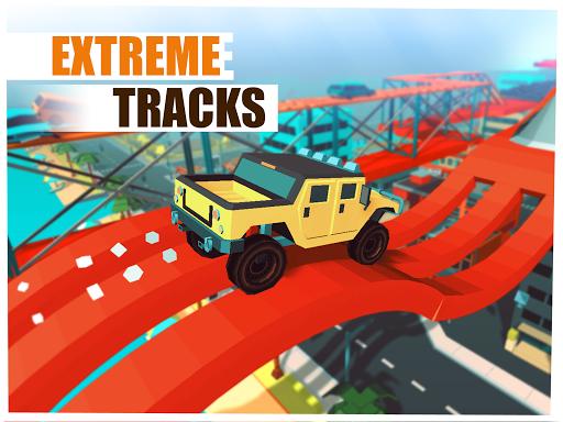 Skill Test - Extreme Stunts Racing Game 2020 screenshots 10