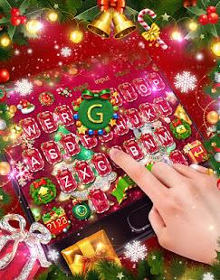 3D Joyful Christmas Keyboard