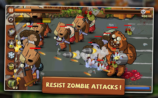 Defender -  Zombie Shooter  screenshots 2