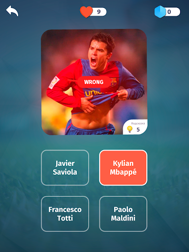 Football Quiz - Guess players, clubs, leagues 2.9 screenshots 9
