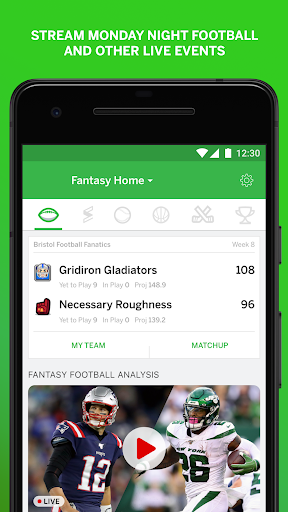 ESPN Fantasy Sports 7.6.2 Screenshots 3