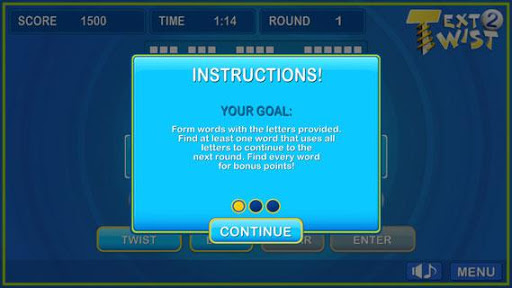 Text Twist 2-Puzzle Word Game 1.0.8 Screenshots 5