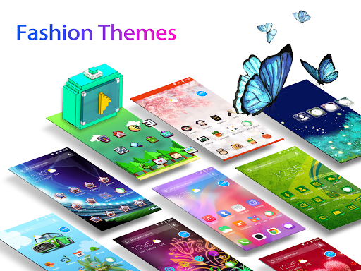 APUS Launcher: Themes, Hide Apps, Live Wallpapers screenshots 1