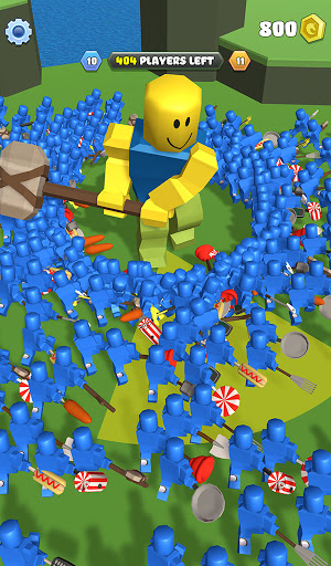 Roblock Smashers - Survival io game android2mod screenshots 1