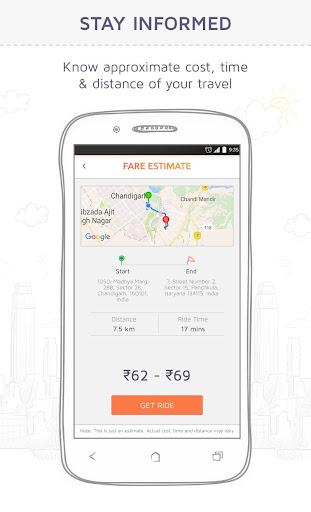 Jugnoo - Taxi Booking App & Software 4.7.0 Screenshots 2
