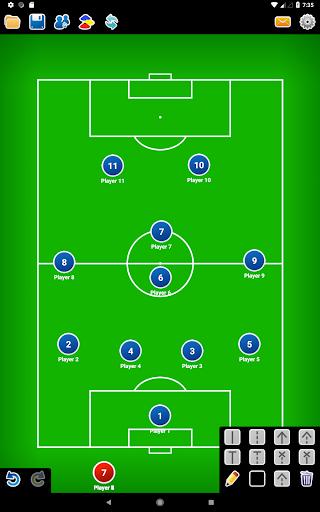 Coach Tactic Board: Soccer 1.3 Screenshots 5