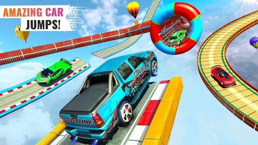 Sports Car Crazy Stunts 2020- Mega Ramp Car Games Latest screenshots 1