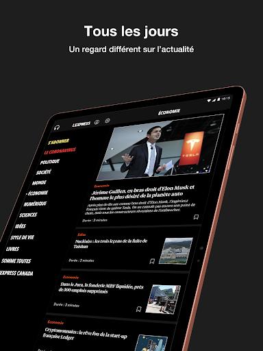 L'Express I Actualités, Infos, France, Monde  screenshots 16