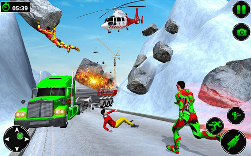 Light Robot Superhero Rescue Mission 2 32 screenshots 6