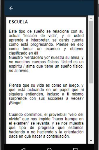 Significado de los Sueu00f1os Gratis Sin Internet. screenshots 3