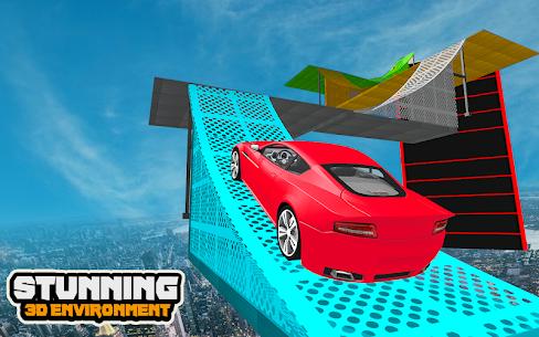 Mega Car Ramp Impossible Stunt Game 5