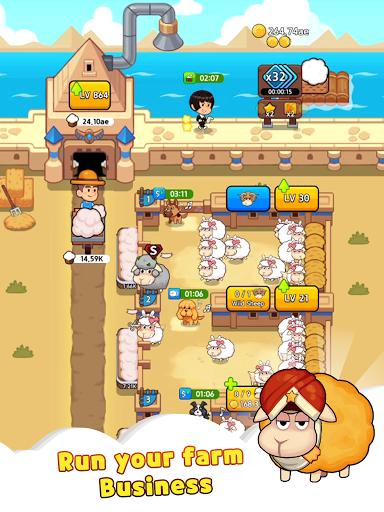 Sheep Farm : Idle Games & Tycoon screenshots 12