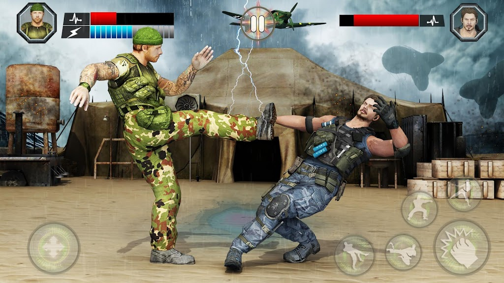 US Army Fighting Games: Kung Fu Karate Battlefield  poster 4