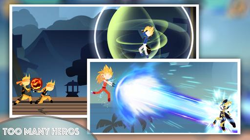 StickDragon Warriors - Stickman Fighter Z Battle  screenshots 2