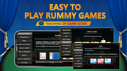 RummyGanesh - Indian Rummy Card Game Online apkslow screenshots 5