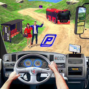 Modern Bus Simulator New Parking Games  Bus Games