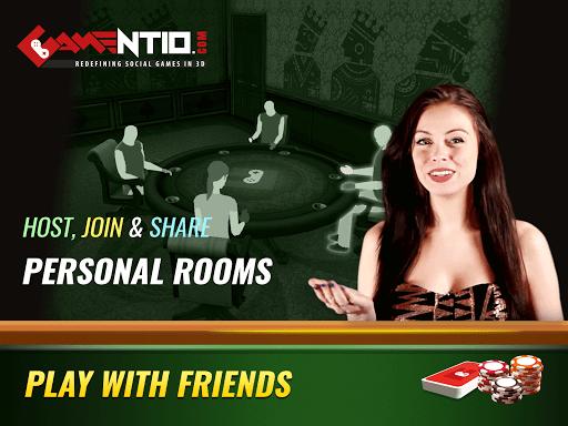 Gamentio 3D: Poker Teenpatti Rummy Slots +More  screenshots 3