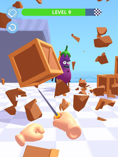 Hit Tomato 3D: Knife Throwing Master screenshots 15