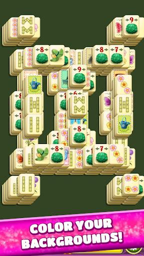 Mahjong Spring Flower Garden screenshots 4