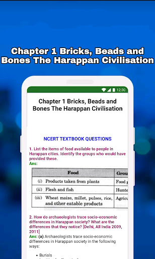 12th Class History Notes & MCQ android2mod screenshots 5
