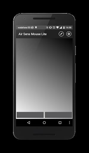 Foto do Air Sens Mouse LITE