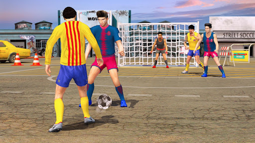 Street Soccer League 3D: Play Live Football Games 2.8 screenshots 2
