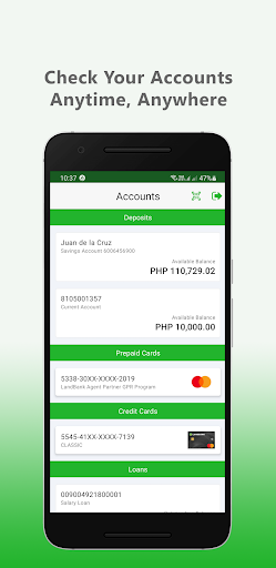 LANDBANK Mobile Banking android2mod screenshots 3
