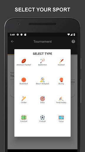 Winner - Tournament Maker App, League Manager 9.9.2 Screenshots 15