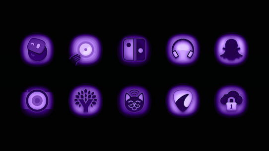 Ultraviolet – Stealth Purple Icon Pack v1.9 (Patched) 3