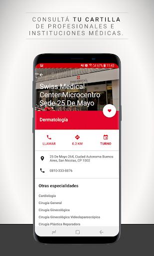 Swiss Medical Mobile Apkfinish screenshots 5