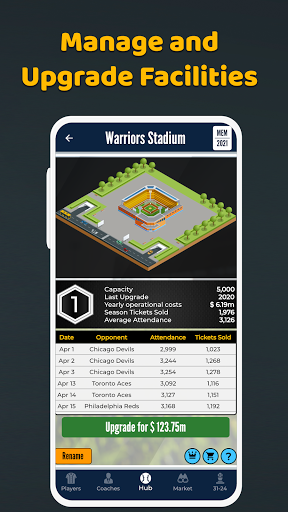 Ultimate Pro Baseball General Manager - Sport Sim  screenshots 4