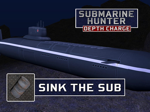 Submarine Hunter Depth Charge screenshots 9