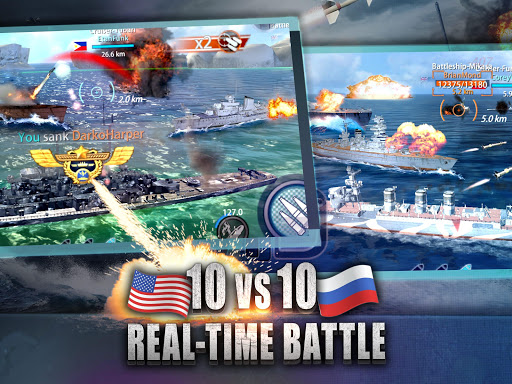 Warship Rising - 10 vs 10 Real-Time Esport Battle 5.7.2 screenshots 8