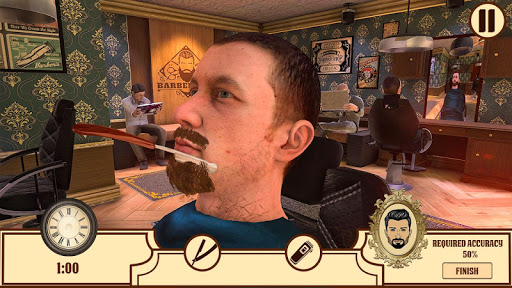 Barber Shop Hair Cut Salon- Hair Cutting Game 2020 screenshots 11