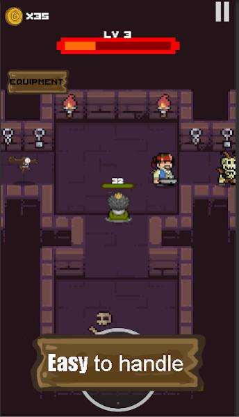 Gambit Dungeon:RPG Pixel Card&Roguelike Battles