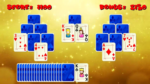 Tri Peaks Gold Solitaire Card For PC Windows (7, 8, 10, 10X) & Mac Computer Image Number- 6