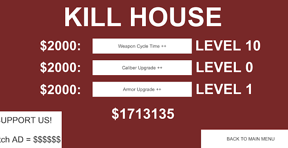 KILL HOUSE – PRE ALPHA Hack for Android and iOS 4