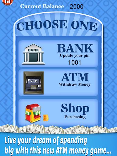 bank atm simulator learning - atm cash machine screenshot 2