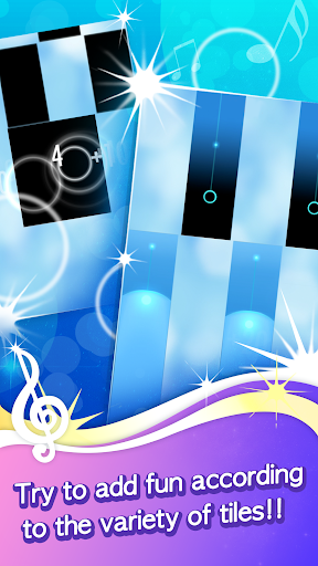 tunes piano - midi play rhythm game screenshot 1