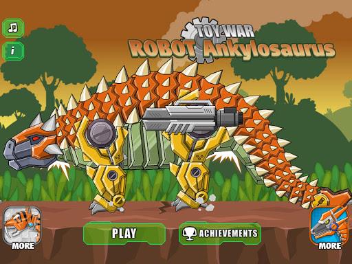 Robot Ankylosaurus Toy War screenshots 10