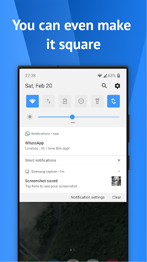 One Shade: Custom Notifications and Quick Settings apktram screenshots 5