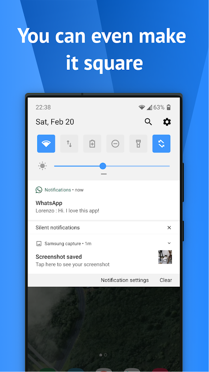 One Shade: Custom Notifications and Quick Settings poster 4