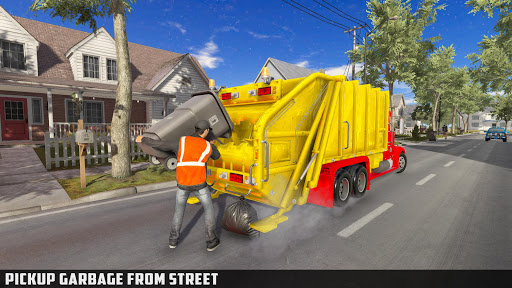 Modern Trash Truck Simulator - Free Games 2020  screenshots 2