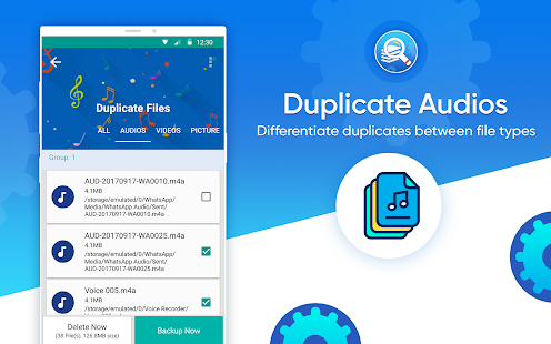 Duplicate Files Fixer and Remover Screenshot